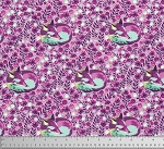 Chipper PWTP080 Raspberry Fox Nap by Tula Pink for Free Spirit