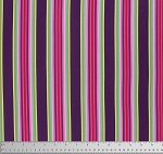 Chipper PWTP082 Raspberry Tick Tock Stripe by Free Spirit EOB