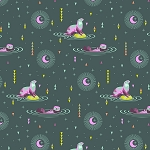 Spirit Animal PWTP102 Lunar Otter and Chill by Tula Pink for Free Spirit
