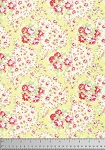 Lola PWTW109 Yellow Paisley by Tanya Whelan for Free Spirit