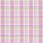 Zoey's Garden PWTW120 Pink Faux Plaid by Tanya Whelan for Free Spirit