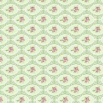 Charlotte PWTW146 Green Cherry Blossom by Tanya Whelan for Free Spirit