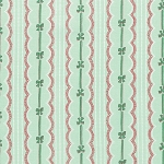 Peppermint Rose PWVM177 Pine Ribbons & Bows by Free Spirit