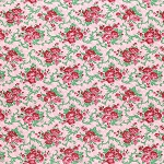 Peppermint Rose PWVM178 Peppermint Holly Berry by Free Spirit