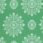 Peppermint Rose PWVM179 Pine Snow Crystals by Free Spirit EOB