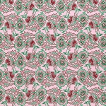 Peppermint Rose PWVM180 Peppermint Paisley Path by Free Spirit