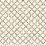 Merton PWWM012 Taupe Gilt Trellis by Morris & Co for Free Spirit