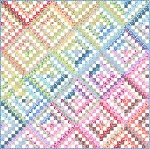 Rainbow Trip Quilt Kit by In The Beginning