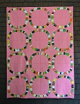 Single Girl Lawn Quilt Kit in Pink by Heather Ross for Windham