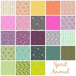 Spirit Animal 23 Fat Quarter Set by Tula Pink for Free Spirit