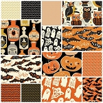 Spooktacular Too 14 Fat Quarter Set by Maude Asbury for Blend