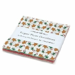 Sugar Plum Christmas Charm Pack by Bunny Hill for Moda