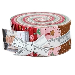 Sugar Plum Christmas Jelly Roll by Bunny Hill for Moda