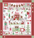 Sugar Plum Christmas Quilt Kit by Bunny Hill for Moda