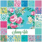 Sunny Isle 21 Fat Quarter Set by Jennifer Paganelli for Free Spirit