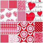 Sweetheart 12 Fat Quarter Set by Michael Miller