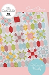 Sweet Stars Quilt Pattern by She Quilts A Lot