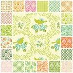 Up Parasol 21 Fat Quarter Set by Heather Bailey for Free Spirit