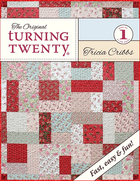 Turning Twenty Original Fat Quarter Quilt Pattern Booklet : fat quarters for quilting - Adamdwight.com