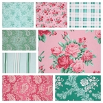 Veranda 8 Fat Quarter Set by Verna Mosquera for Free Spirit