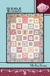 Wanda Quilt Pattern by Villa Rosa Designs