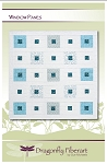 Window Panes Quilt Pattern by Dragonfly Fiberart
