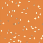 Mod Basics 3 Organic MB3-01 Orange Wink by Birch Fabrics