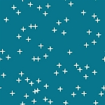 Mod Basics 3 Organic MB3-01 Teal Wink by Birch Fabrics