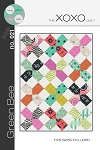 The XOXO Quilt Pattern by Green Bee