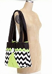 Zig Zag Bag Kit in Black by Riley Blake