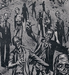 Zombie 7945-B Charcoal by Alexander Henry