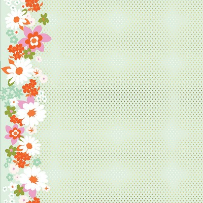 Mustang 0002-001 Sparkle Flower by Melody Miller for Cotton + Steel