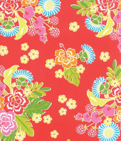Sanibel 10030-15 Scarlet Hibiscus by Gina Martin for Moda