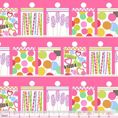 Lolly 101.122.04.1 Pink Confectionery by Maude Asbury for Blend