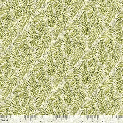 Little Red 112.109.04.2 Green Ferny by Cori Dantini for Blend