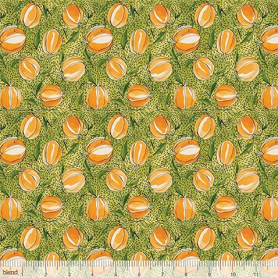Spooky Town 112.110.04.2 Green Punkin Patch by Blend EOB