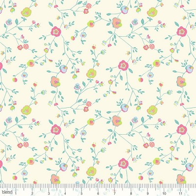 Garden Party 124.101.05.1 Ivory Woodland Floral by Blend