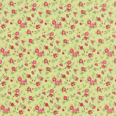 Windermere 18611-13 Clover Songbird by Brenda Riddle for Moda
