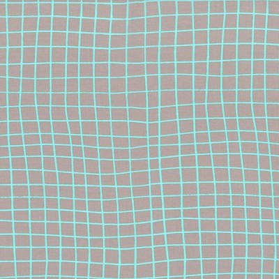 Moonlit 1905-001 Aqua On the Grid by Cotton + Steel EOB