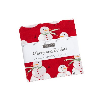 Merry & Bright Charm Pack by Me & My Sister for Moda