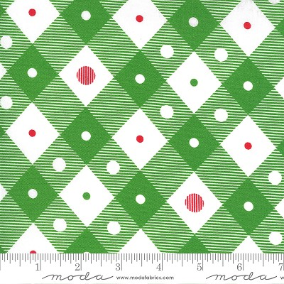 Merry & Bright 22404-12 Evergreen Merry Plaid by Moda