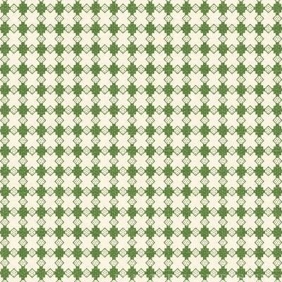 With All My Heart 24804 Green Houndstooth by Red Rooster