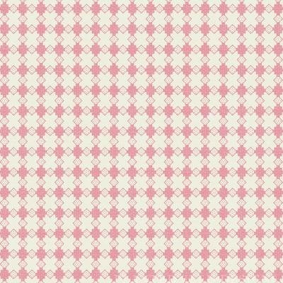 With All My Heart 24804 Pink Houndstooth by Red Rooster
