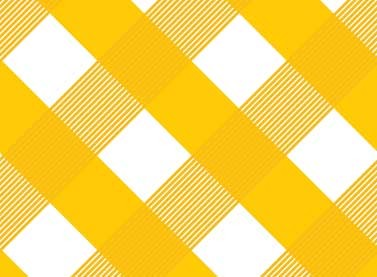 Sundborn Garden 25021 Yellow Gingham by Red Rooster