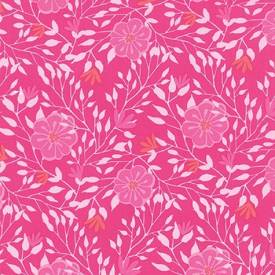 Paradiso 27202-11 Hibiscus Pink Camellia by Kate Spain for Moda