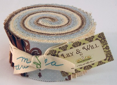 Lily & Will - Boy - Jelly Roll by Bunny Hill for Moda
