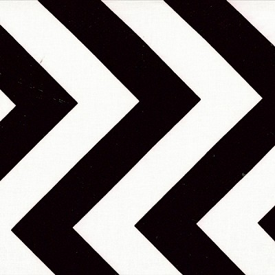 Half Moon Modern 32349-12 Black Big Zig Zag by Moda