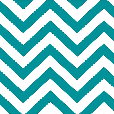 Half Moon Modern 32349-33 Blue Big Zig Zag by Moda