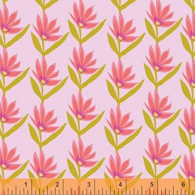 Garden Party Tango 38895-4 Pink Set Flower by Windham