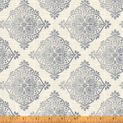 Mariposa 40087-3 Grey Medallions by Windham
